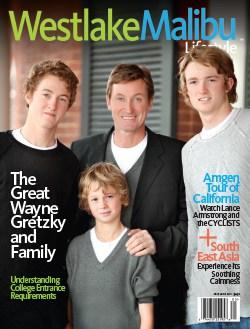 WESTLAKE MALIBU LIFESTYLE MAY-JUNE 2010. WAYNE GRETZKY COVER STORY