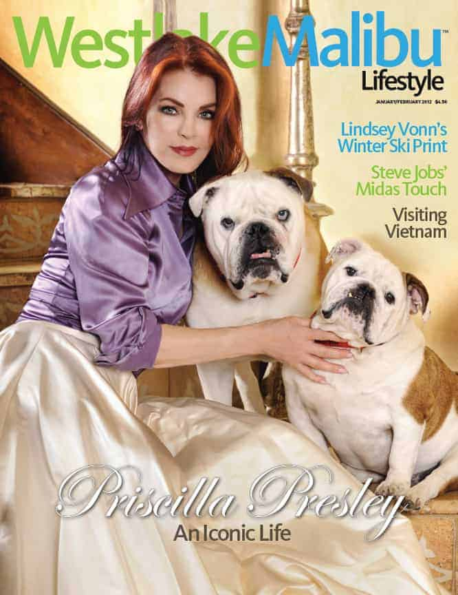 WESTLAKE MALIBU LIFESTYLE MAY-JUNE 2011. CARRIE PRESTON & MICHAEL EMERSON COVER STORY