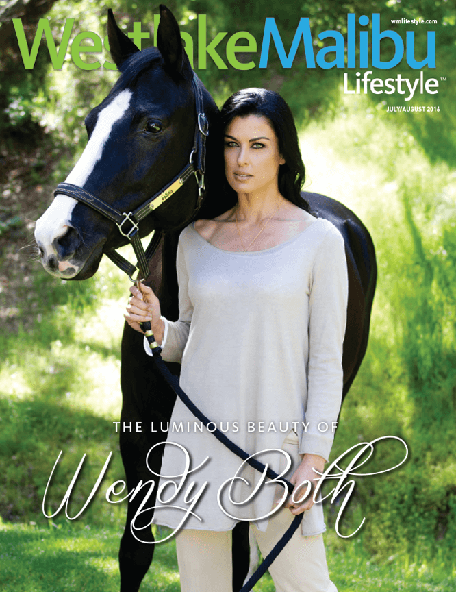 WESTLAKE MALIBU LIFESTYLE JULY AUGUST 2016. WENDY BOTH COVER STORY