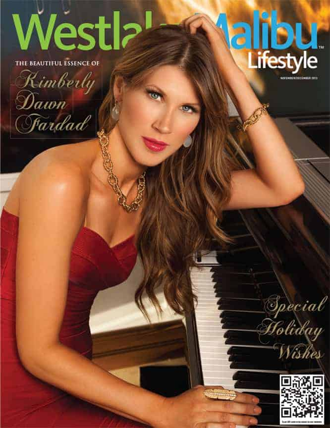 WESTLAKE MALIBU LIFESTYLE NOVEMBER-DECEMBER 2010. HEATHER LOCKLEAR COVER STORY