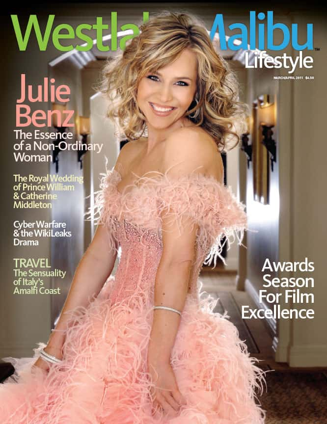 WESTLAKE MALIBU LIFESTYLE MARCH-APRIL 2011. JULIE BENZ COVER STORY