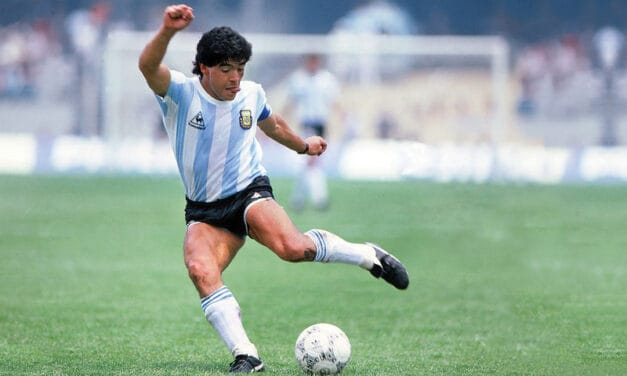 SPORTS: Diego Maradona: The Flawed Genius